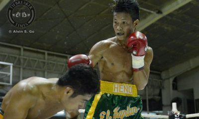 Tiebreaker Times Heno's OPBF title-clinching performance goes to waste Boxing News  Edward Heno Anson Tiu Co