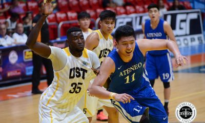 Tiebreaker Times Ateneo picks up wire-to-wire win over UST ADMU Basketball News UST  UST Men's Basketball Tab Baldwin Mike Nieto Jordan Sta. Ana Jeepy Faundo Isaac Go Boy Sablan Ateneo Men' Basketball 2017 Filoil Flying V Premier Cup