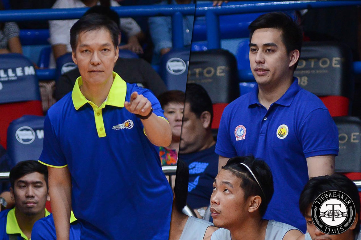 Tiebreaker Times Coach E proud of son for carving own niche in Arellano AU Basketball News PBA D-League  Flying V Thunder Eric Altamirano Arellano Seniors Basketball Anton Altamirano 2017 Filoil Flying V Premier Cup