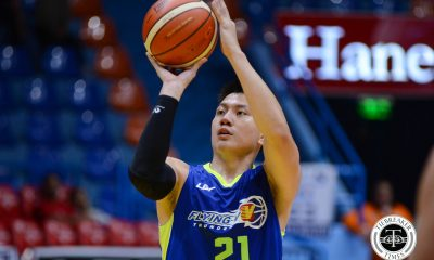 Tiebreaker Times Flying V completes comeback against Racal in tune-up Basketball News PBA D-League  Racal Tile Masters Jerry Codinera Jeron Teng Jason Grimaldo Gab Banal Flying V Thunder Eric Altamirano Allan Mangahas 2017 Filoil Flying V Premier Cup