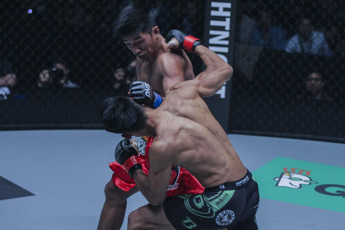 Tiebreaker Times Geje Eustaquio takes on former ONE World Champion in main event of Total Domination Mixed Martial Arts News ONE Championship  Team Lakay ONE: Total Domination Kairat Akhmetov Geje Eustaquio