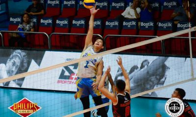 Tiebreaker Times Sta. Elena imposes will on Army to return to win column News PVL Volleyball  Sta. Elena Wrecking Balls Rico De Guzman Philippine Army Troopers Kurl Rosete Israel Encina Geuel Asia Carlo Almario Berlin Paglinawan Benjaylo Labide Arnold Laniog Army Troopers Anthony Arbasto Ace Mandani 2017 PVL Season 2017 PVL Men's Reinforced Conference