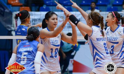 Tiebreaker Times Ailing Myla Pablo questionable for Game 2 News PVL Volleyball  Pocari Sweat Lady Warriors Myla Pablo 2017 PVL Women's Open Conference 2017 PVL Season