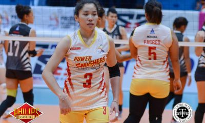Tiebreaker Times Power Smashers melt Creamline in five feverish sets News PVL Volleyball  Tai Bundit Power Smashers Nes Pamilar Laura Schaudt Kannika Tipacho Hyapa Amporn Eunice Galang Creamline Cool Smashers Alyssa Valdez Alina Bicar 2017 PVL Women's Reinforced Conference 2017 PVL Season