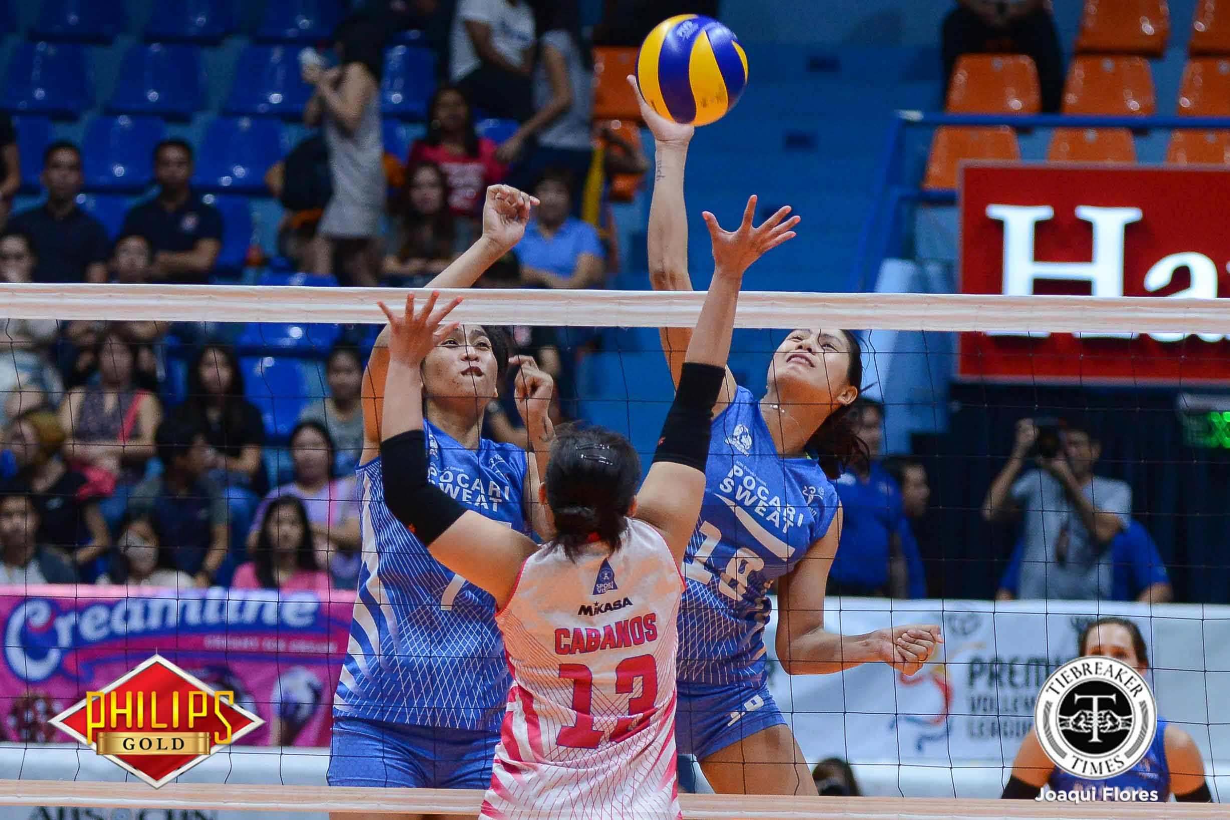 Philippine Sports News - Tiebreaker Times No hard feelings between Myla Pablo and former Lady Warriors News PVL Volleyball  Pocari Sweat-Air Force Lady Warriors Myla Pablo 2018 PVL Women's Reinforced Conference 2018 PVL Season
