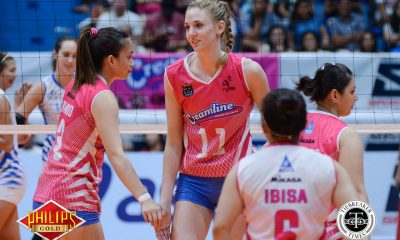 Tiebreaker Times Filipinos' unique passion for volleyball brought Schaudt back News PVL Volleyball  Laura Schaudt Creamline Cool Smasers 2017 PVL Women's Reinforced Conference 2017 PVL Season