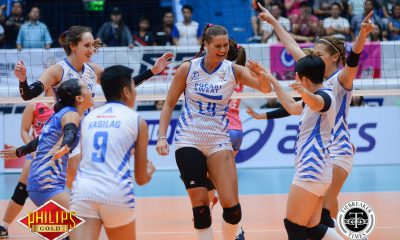 Tiebreaker Times Pocari Sweat's Selimovic out for season News PVL Volleyball  Pocari Sweat Lady Warriors Eric Ty Edina Selimovic 2017 PVL Women's Reinforced Conference 2017 PVL Season