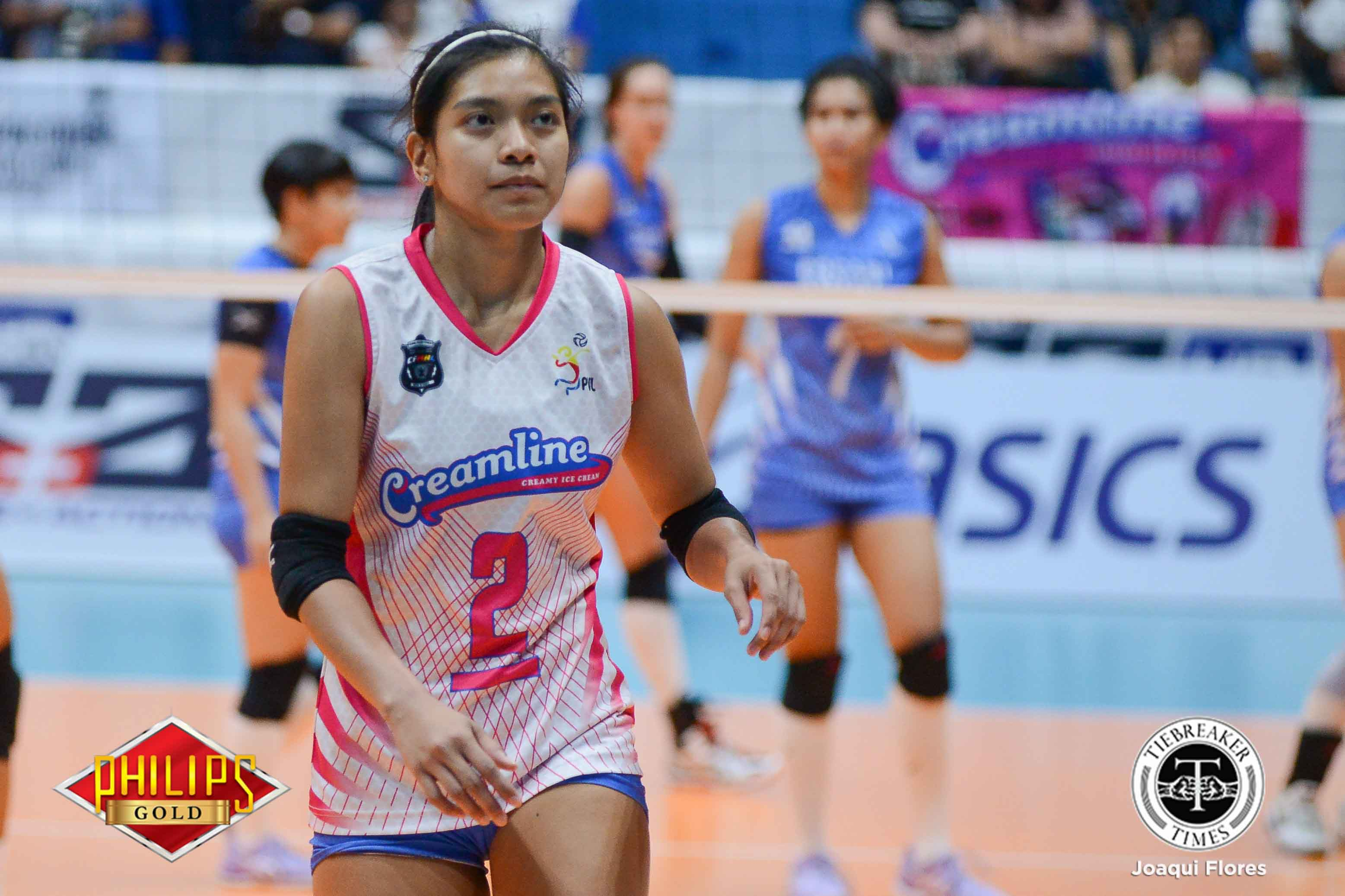 Tiebreaker Times Creamline edges Pocari Sweat-Air Force in Legazpi City showdown News PVL Volleyball  Tai Bundit Pocari Sweat Lady Warriors Myla Pablo Melissa Gohing Jia Morado Jema Galanza Jasper Jimenez Del Palomata Creamline Cool Smashers Alyssa Valdez 2018 PVL Season 2018 PVL Open Conference