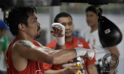 Tiebreaker Times Manny Pacquiao targeting ninth division crown, Gennady Golovkin, says Roach Boxing News  Manny Pacquiao Freddie Roach
