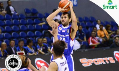 Tiebreaker Times From 40 to 2: Dasom rues limited minutes in dismal outing versus Gilas 2017 SEABA Championship 2017 SEABA Seniors Basketball News  Wutipong Dasom Tim Lewis Thailand (Basketball)