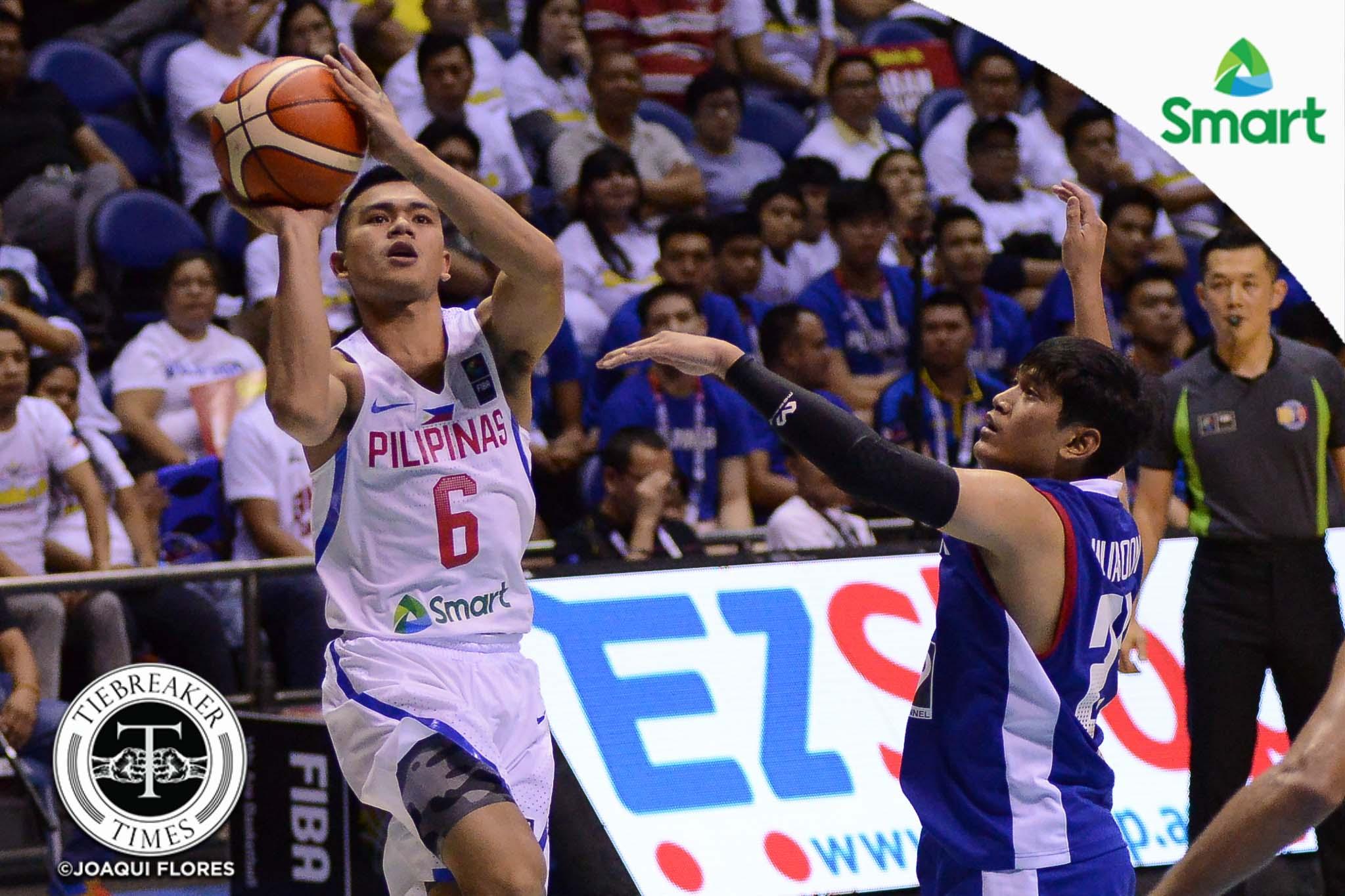 Tiebreaker Times Jalalon was the MVP of the tournament, says Chot 2017 SEABA Championship 2017 SEABA Seniors Basketball Gilas Pilipinas News  Terrence Romeo Jio Jalalon Chot Reyes