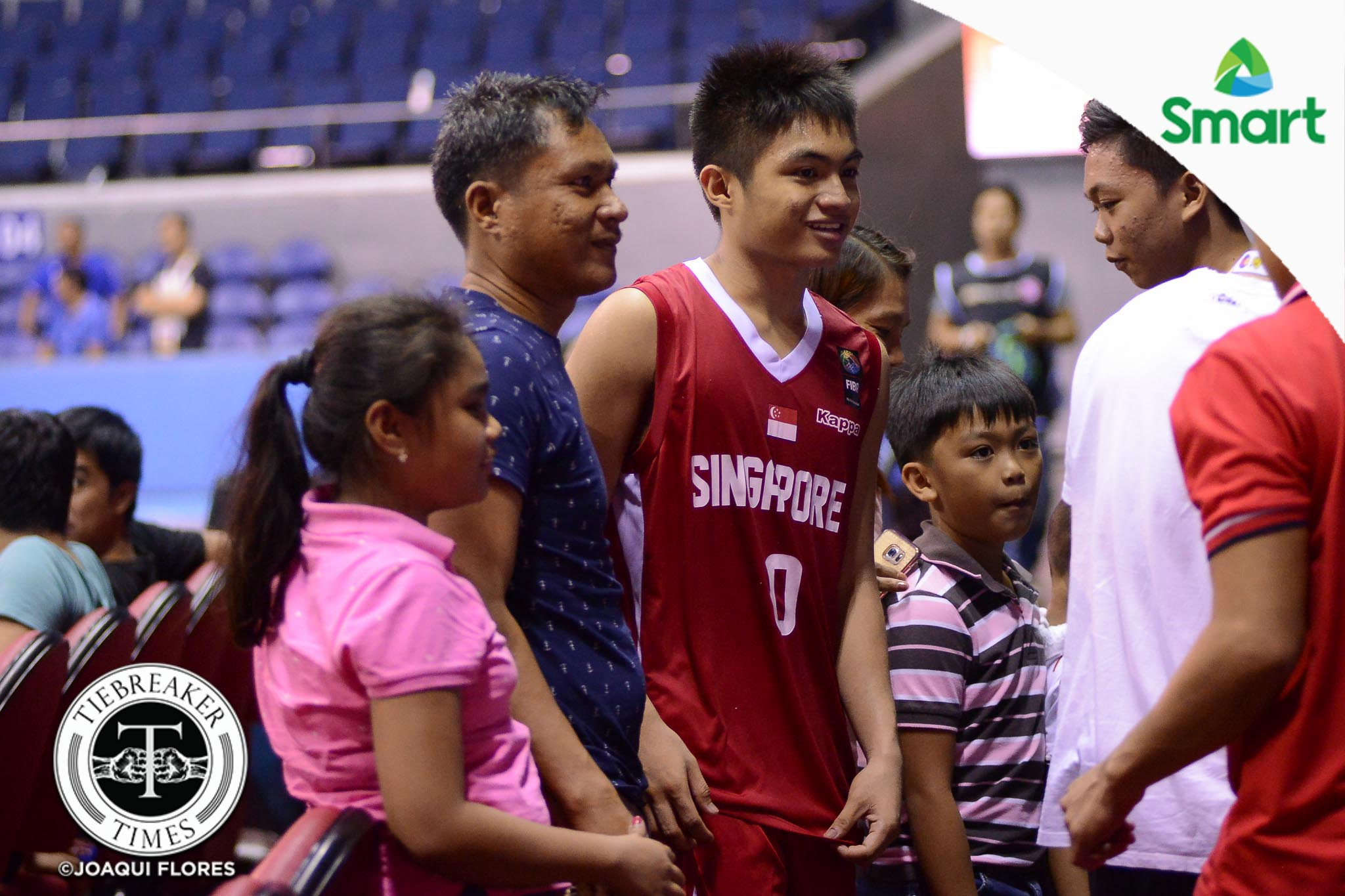Tiebreaker Times Reuben Amado's family relishes return to Manila 2017 SEABA Championship 2017 SEABA U-16 Basketball News  Singapore (Basketball) Reuben Amado