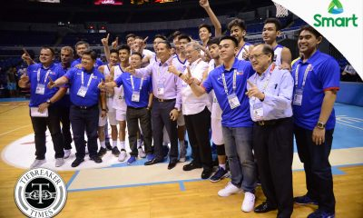 Tiebreaker Times Coach Chot hopes this batch of Batang Gilas sticks together 2017 SEABA Championship 2017 SEABA U-16 Basketball Gilas Pilipinas News  Chot Reyes Batang Gilas