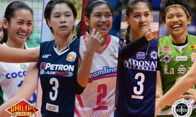 Tiebreaker Times Valdez, Santiago headline SEA Games, Asian Seniors team News Volleyball  Rhea Dimaculangan Rachel Daquis Mika Reyes Kim Fajardo Jovelyn Gonzaga Jaja Santiago Gen Casugod Denden Lazaro Dawn Macandili Ces Molina Alyssa Valdez Aiza Maizo-Pontillas Aby Marano 2017 SEA Games - Volleyball 2017 Asian Women's Volleyball Championship