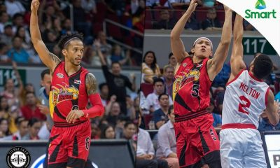 Tiebreaker Times BPC leaders Ross, Cabagnot in unison: 'We wish to get co-BPC' Basketball News PBA  San Miguel Beermen PBA Season 42 Chris Ross Alex Cabagnot 2017 PBA Commissioners Cup