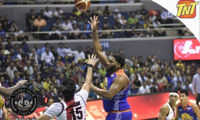 Tiebreaker Times Besides rest and painkillers, Joshua Smith receives best remedy after Game 1 Basketball News PBA  TNT Katropa PBA Season 42 Joshua Smith 2017 PBA Commissioners Cup
