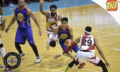 Tiebreaker Times Rookie Pogoy not resting on laurels despite career outing Basketball News PBA  TNT Katropa Roger Pogoy PBA Season 42 Nash Racela 2017 PBA Commissioners Cup