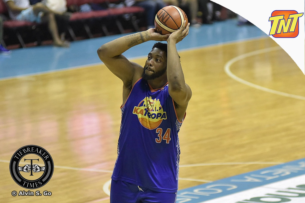 Tiebreaker Times Smith rues TNT's miscues in Game Three loss Basketball News PBA  TNT Katropa PBA Season 42 Joshua Smith 2017 PBA Commissioners Cup