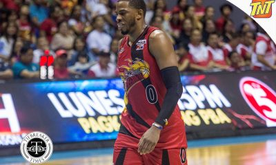 Tiebreaker Times No celebration tonight for newly-crowned Best Import Rhodes Basketball News PBA  San Miguel Beermen PBA Season 42 Charles Rhodes 2017 PBA Commissioners Cup