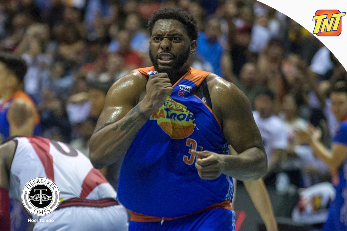 Philippine Sports News - Tiebreaker Times SOURCES: Joshua Smith set to return to TNT Basketball News PBA  TNT Katropa PBA Season 43 Joshua Smith Jeremy Tyler 2018 PBA Commissioners Cup