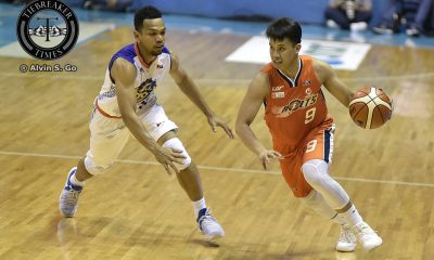 Tiebreaker Times Amer, Meralco survive OT without Stepheson to force Game 3 Basketball News PBA  TNT Katropa RR Garcia PBA Season 42 Norman Black Nash Racela Meralco Bolts Kelly Williams Kelly Nabong Joshua Smith Cliff Hodge Baser Amer 2017 PBA Commissioners Cup