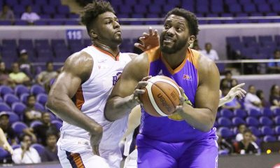 Tiebreaker Times Matching up with TNT's behemoth Smith challenges Stepheson Basketball News PBA  PBA Season 42 Meralco Bolts Alex Stepheson 2017 PBA Commissioners Cup