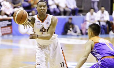 Tiebreaker Times Breaks of the game dealt Meralco sorry loss, says Newsome Basketball News PBA  PBA Season 42 Norman Black Meralco Bolts Chris Newsome 2017 PBA Commissioners Cup