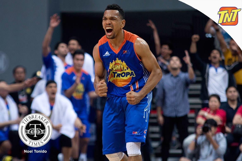 Tiebreaker Times Castro's woeful outing forgotten as TNT still reigns Basketball News PBA  TNT Katropa PBA Season 42 Jayson Castro 2017 PBA Commissioners Cup