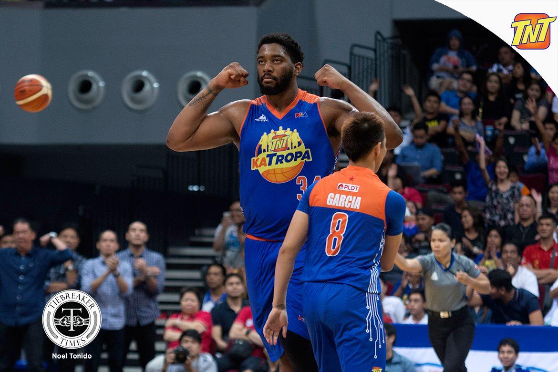 Tiebreaker Times Smith proves the Katropa right Basketball News PBA  TNT Katropa PBA Season 42 Nash Racela Joshua Smith 2017 PBA Commissioners Cup