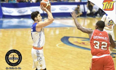 Tiebreaker Times Unlikely hero emerges for TNT Basketball News PBA  TNT Katropa PBA Season 42 Anthony Semerad 2017 PBA Commissioners Cup