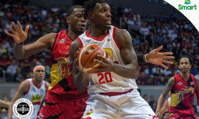 Tiebreaker Times Ricardo Ratliffe bids farewell to Hotshots after being naturalized by South Korea Basketball News PBA  South Korea (Basketball) Ricardo Ratliffe Magnolia Hotshots 2018 PBA Commissioners Cup