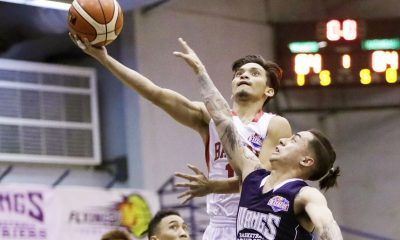 Tiebreaker Times De Joya game-winner lifts Batangas to 2-0 slate Basketball News PBA D-League  Wangs Basketball Couriers Timothy Habelito Robbie Herndon Province of Batangas (PBA D-League) Pablo Lucas Michole Sorela Joseph Sedurifa Jessie Saitanan Eric Gonzales Cedric De Joya 2017 PBA D-League Season 2017 PBA D-League Foundation Cup