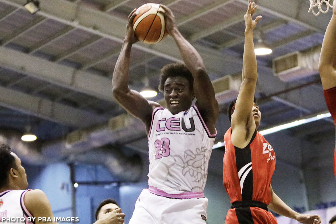 Philippine Sports News - Tiebreaker Times Rod Ebondo to take advantage of Bright Akhuetie's possible absence for Chooks Pilipinas Basketball Gilas Pilipinas News  Rod Ebondo Chooks-to-Go Pilipinas Chooks-to-Go CEU Scorpions 2017 FIBA Asia Champions Cup