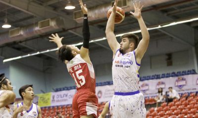 Tiebreaker Times Despite getting his numbers, Andre Paras continues to look for elusive win Basketball News PBA D-League  André Paras AMA Online Education Titans 2017 PBA D-League Season 2017 PBA D-League Foundation Cup