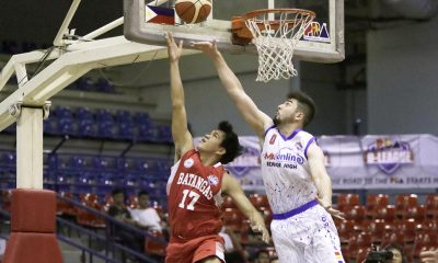 Tiebreaker Times Batangas romps AMA to take solo second Basketball News PBA D-League  Renzo Subido Province of Batangas (PBA D-League) Mark Herrera Joseph Sedurifa Jerard Bautista Ivan Villanueva Eric Gonzales Cedrick Ablaza André Paras AMA Online Education Titans 2017 PBA D-League Season 2017 PBA D-League Foundation Cup