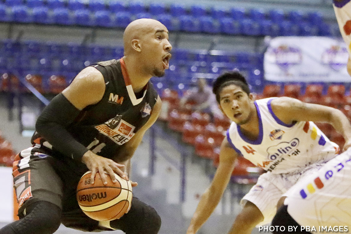 Philippine Sports News - Tiebreaker Times Potts, Cignal vent frustration on AMA; Paras makes debut Basketball News PBA D-League  Raymar Jose Paolo Pontejos Pamboy Raymundo Mark Herrera Embons Bonleon Davon Potts Cignal HD Hawkeyes Boyet Fernandez André Paras AMA Online Education Titans 2017 PBA D-League Season 2017 PBA D-League Foundation Cup