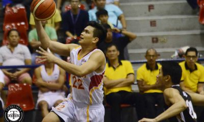 Tiebreaker Times Tanduay breaks league-record for most points in a quarter in Gamboa rout Basketball News PBA D-League  Tanduay Rhum Masters Renz Palma Paul Varilla Mike Parala Lester Alvarez Leo Avenido Lawrence Chongson Ken Acibar Gamboa Coffee Lovers Adi Santos 2017 PBA D-League Season 2017 PBA D-League Foundation Cup