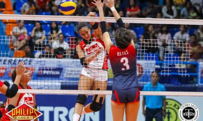 Tiebreaker Times Cignal displays better familiarity against Petron for solo lead News PSL Volleyball  Shaq delos Santos Royse Tubino Petron Blaze Spikers Patricia Torres Jovelyn Gonzaga George Pascua Cignal HD Spikers Chie Saet Cherry Rondina Ces Molina Aiza Maizo-Pontillas 2017 PSL Season 2017 PSL All Filipino Conference