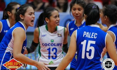 Tiebreaker Times Gumabao carries Cocolife in sweep of Cherrylume News PSL Volleyball  Michele Gumabao Mary Anne Mendrez Lerma Giron Kungfu Reyes Denden Lazaro Cocolife Asset Managers Cherrylume Iron Lady Warriors Angelica Cayuna 2017 PSL Season 2017 PSL All Filipino Conference
