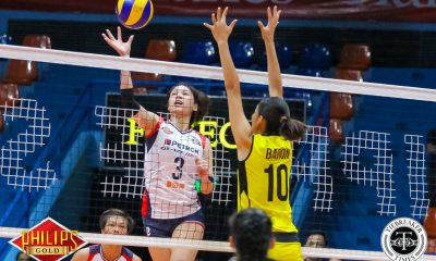 Tiebreaker Times Mika Reyes moves on from F2 Logistics News PSL Volleyball  Petron Blaze Spikers Mika Reyes 2017 PSL Season 2017 PSL All Filipino Conference