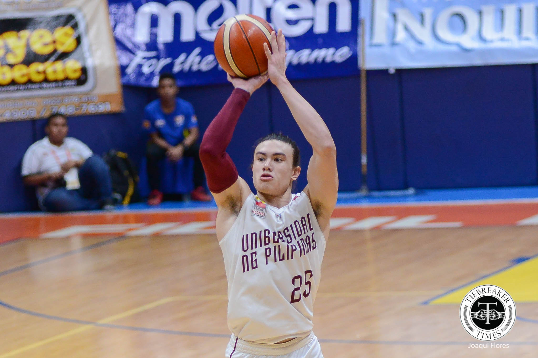 Tiebreaker Times UP enters Premier Cup playoffs for the first time in nine years Basketball News NU UP  UP Men's Basketball NU Men's Basketball Noah Webb Jun Manzo Dave Yu Bo Perasol 2017 Filoil Premier Cup