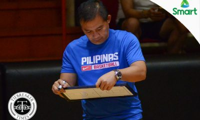 Tiebreaker Times Chot Reyes defends decision to field same SMART Gilas 12 against Chinese-Taipei 2019 FIBA World Cup Qualifiers Basketball Gilas Pilipinas News  Chot Reyes Chinese-Taipei (Basketball) 2019 FIBA World Cup Qualifiers Group B