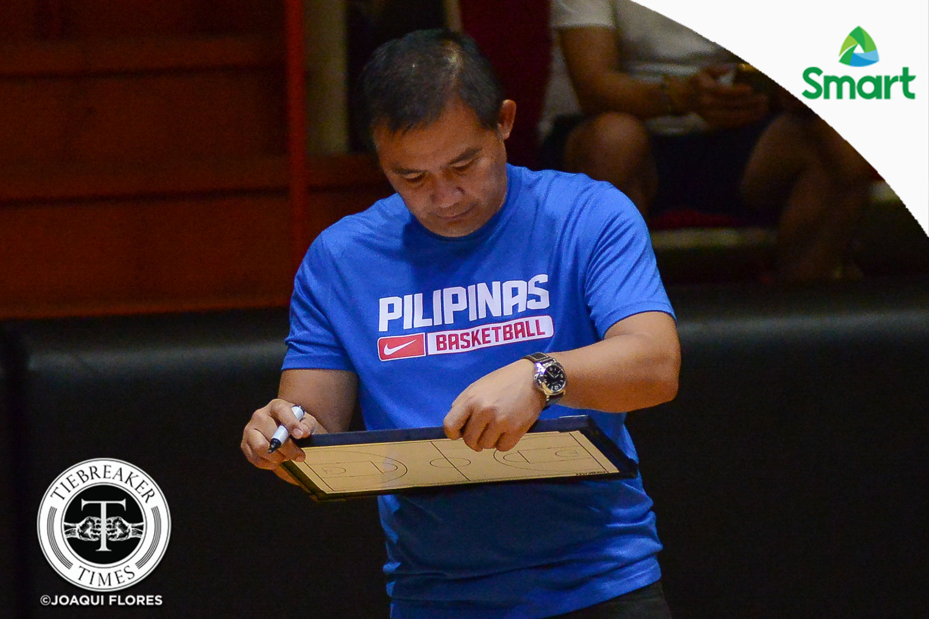 Philippine Sports News - Tiebreaker Times Chot Reyes defends decision to field same SMART Gilas 12 against Chinese-Taipei 2019 FIBA World Cup Qualifiers Basketball Gilas Pilipinas News  Chot Reyes Chinese-Taipei (Basketball) 2019 FIBA World Cup Qualifiers Group B
