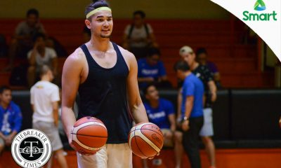 Tiebreaker Times Butch Antonio thinks Kobe Paras is here to stay Basketball Gilas Pilipinas News  Kobe Paras Butch Antonio 2018 Filoil Premier Cup