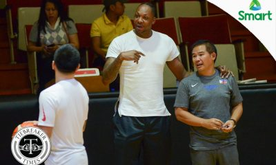 Tiebreaker Times Marcus Douthit believes Gilas 'a hundred times better' than before Basketball Gilas Pilipinas News  Marcus Douthit 2017 SEA Games - Basketball 2017 Jones Cup