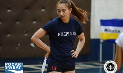 Tiebreaker Times Women's Team looking at two-week Japan camp; Daquis steps down from pool News Volleyball  Tats Suzara Rachel Daquis Mika Reyes Kim Dy Francis Vicente Denden Lazaro 2017 SEA Games - Volleyball