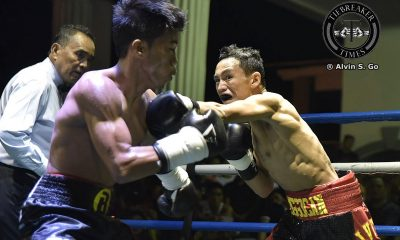 Tiebreaker Times Laguna's Robert Onggocan successful in first IBF World Youth title defense Boxing News  Warren Manbunag Venson Delopere Robert Onggocan Olivetti Boxing Promotions Marjun Pantilgan Jimmy Borbon Bryan Macamay