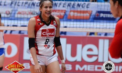 Tiebreaker Times Cignal HD breaks slump, slams Iriga City with third loss News PSL Volleyball  Tamara Kmezic Saam Miyagawa Parley Tupas Jovelyn Gonzaga Jheck Dionela Iriga City Lady Oragons George Pascua Cignal HD Spikers Chooks-to-Go Chie Saet Beth Carey 2017 PSL Season 2017 PSL Grand Prix