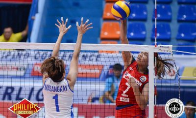 Tiebreaker Times Petron nips Generika-Ayala for first win in second round News PSL Volleyball  Shaq delos Santos Ria Duremdes Rhea Dimaculngan Petron Blaze Spikers Patty Orendain Generika Lifesavers Francis Vicente Fiolla Ceballos Ces Molina Aiza Maizo-Pontillas 2017 PSL Season 2017 PSL All Filipino Conference