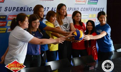 Tiebreaker Times PSL banners record eight teams in All-Filipino Conference News PSL Volleyball  Sta. Lucia Lady Realtors Petron Blaze Spikers Generika Lifesavers Foton Tornadoes F2 Logistics Cargo Movers Cocolife Asset Managers Cignal HD Spikers Cherrylume Iron Lady Warriors 2017 PSL Season 2017 PSL All Filipino Conference